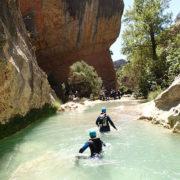 Rio Vero barranquismo. Huesca