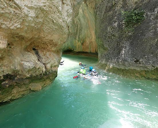 Canyoning rodellar - Sierra de Guara