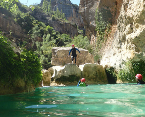 Canyoneering Spain Rodellar