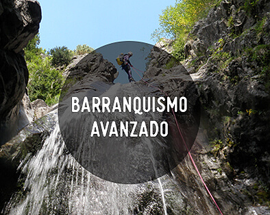 Canyoning avanzado Guara Pirineos