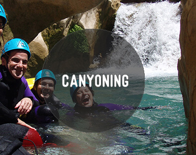Canyoneering sierra de guara