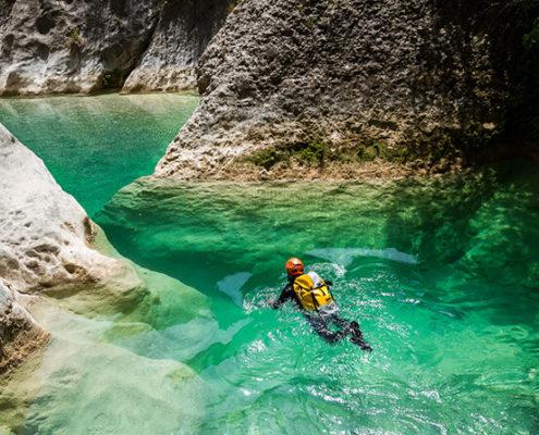 Cañón Del Río vero pozas de villacantal
