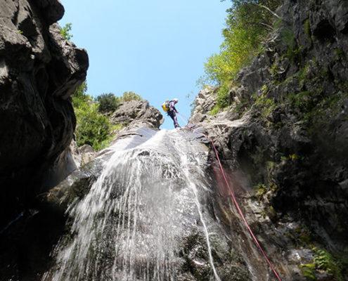 Rápeles verticales pirineo huesca