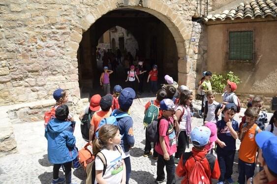 visita guiada colegios alquezar